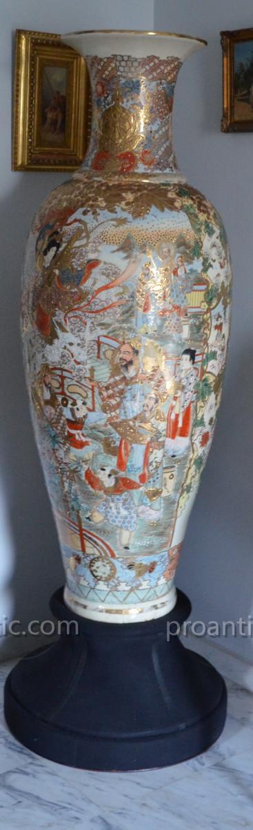 Satsuma Vase Height 155 Cm