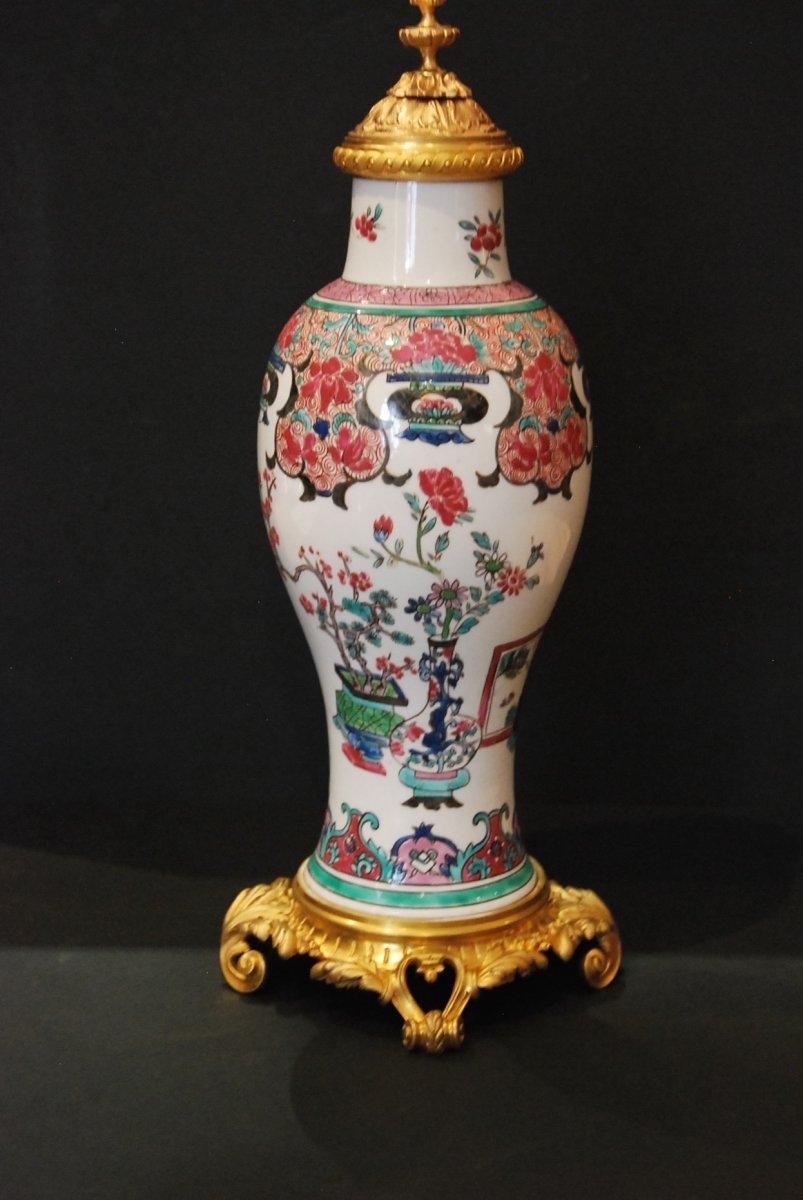 Vase En Porcelaine De Chine 19ème