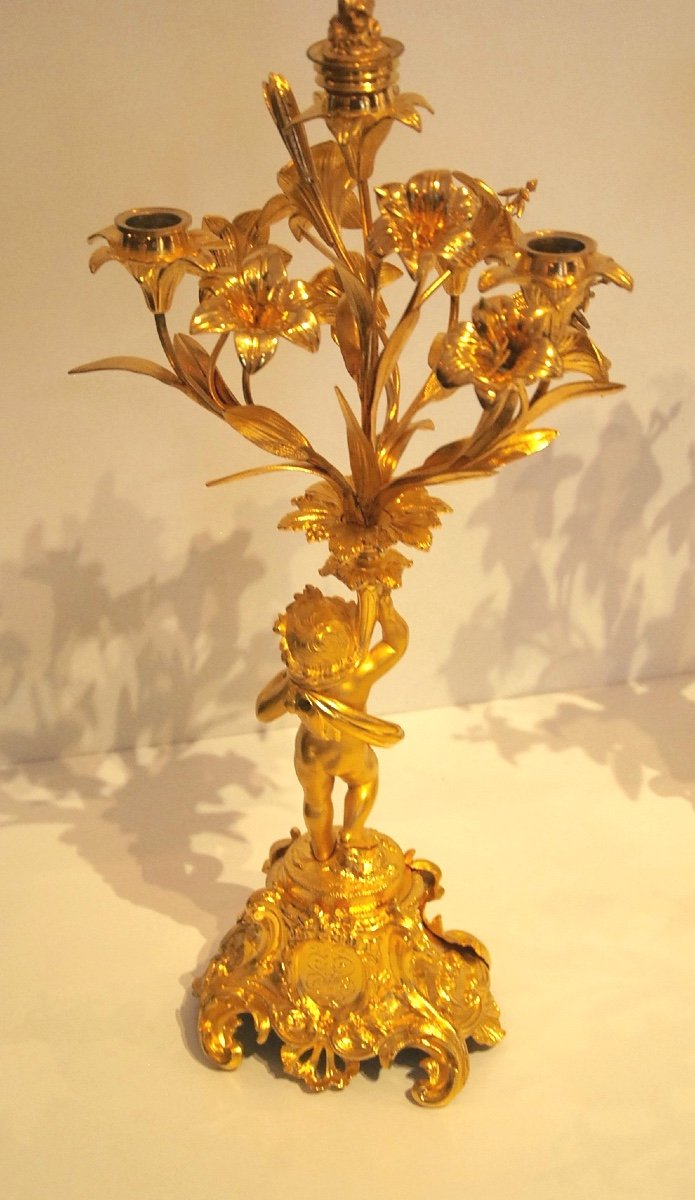 Pair Of Candelabra Late 19th-photo-1