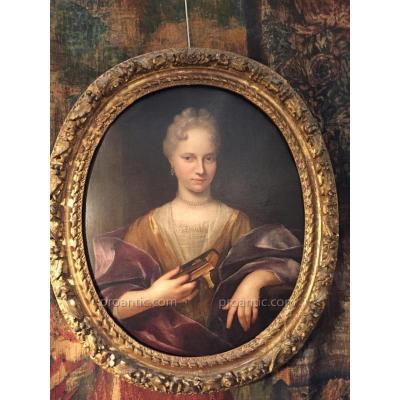 """""""portrait d'Une Dame De Qualité 18ème"""""""""""