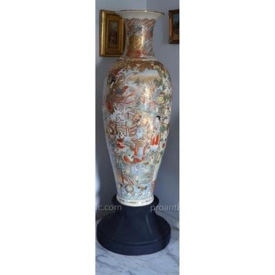 Vase en Satsuma Hauteur 155 Cm