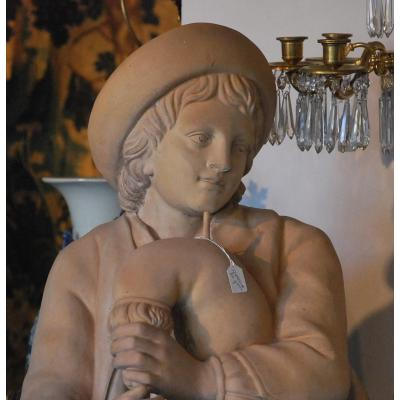 Paire De Statues Fin 18ème
