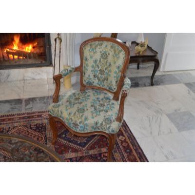 4 Louis XV Period Armchairs