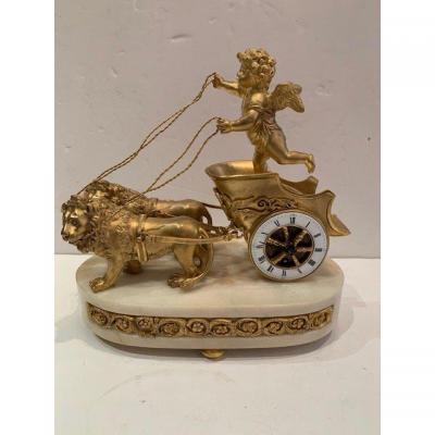 Pendulum In Chariot Directoire Period