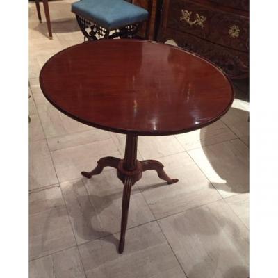 Mahogany Pedestal Table Late 18th -