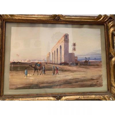 Aqueduc Romain à Bou-Rabia En Tunisie