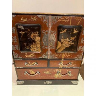 Cabinet Japon époque Meiji