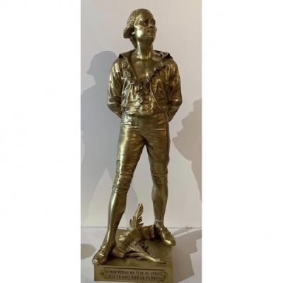 Bronze Représentant Danton