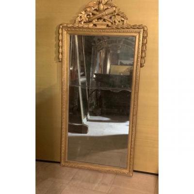 Miroir d'époque Louis XVI 18ème