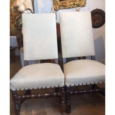 Pair Of 18th Chairs
