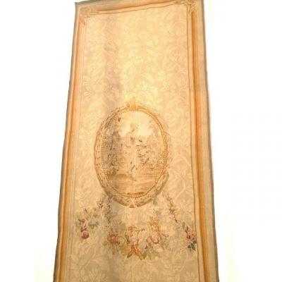Portière En Laine Et Soie de style  Louis XVI
