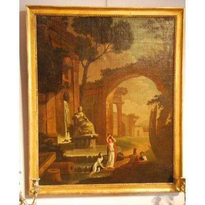 18th Table In The Taste Of Hubert Robert