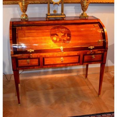 Bureau à Cylindre d'époque Louis XVI