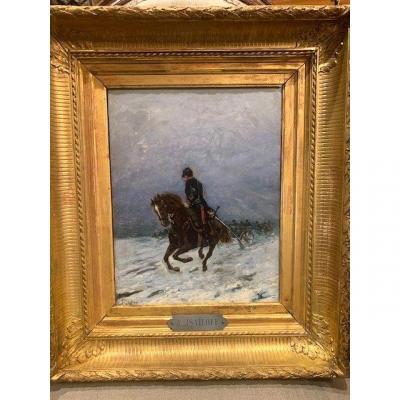 Cavalier à Cheval peintre Russe