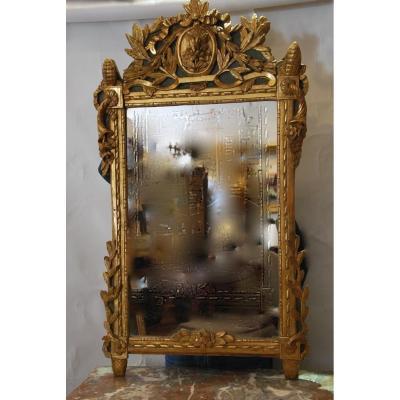 """""""miroir d'époque Louis XVI 18ème"""