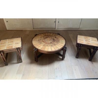 3 Tables De Roger Capron
