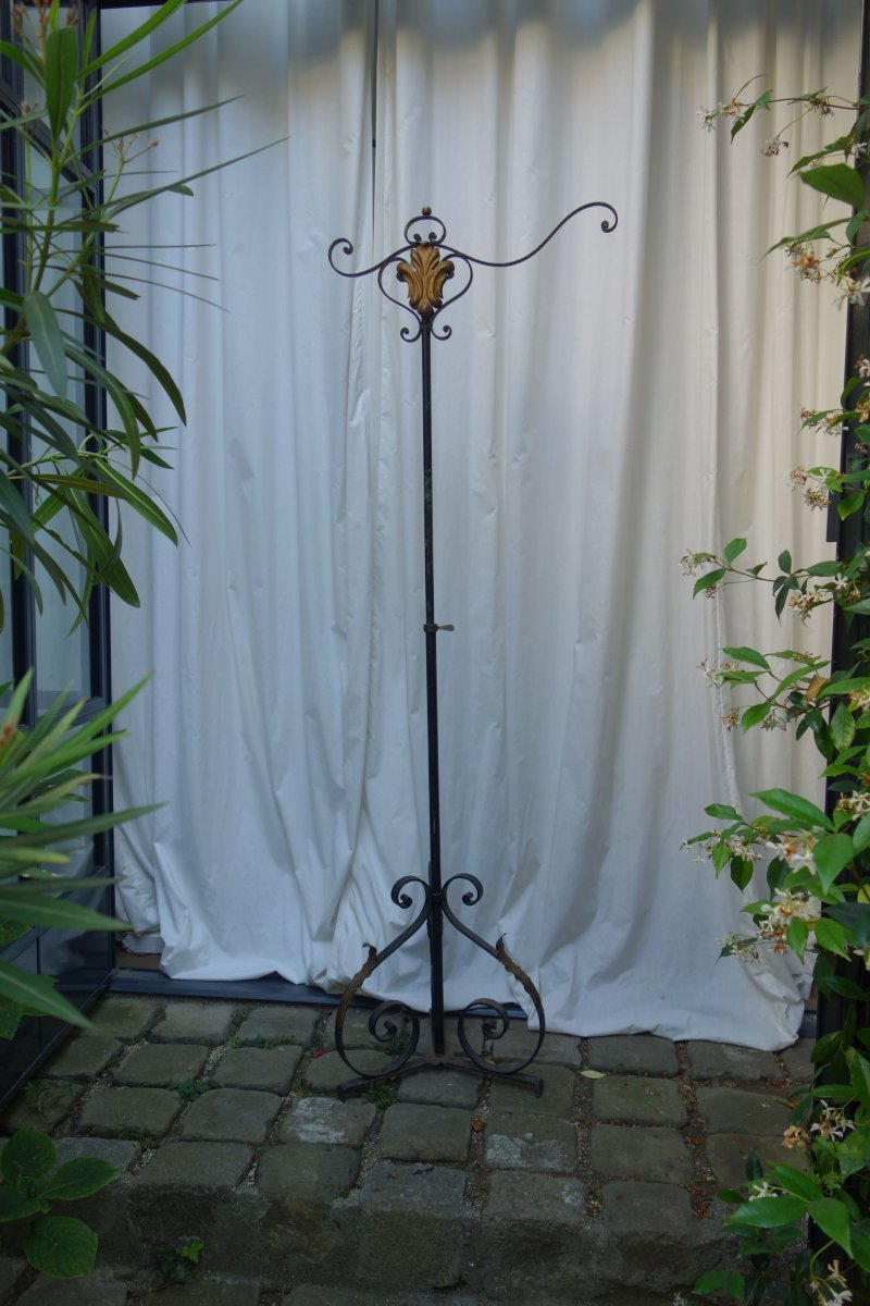 Wrought Iron Stem, Forties