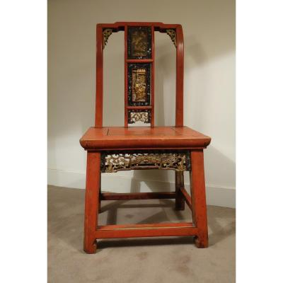 Mandarin Chair In Lacquered Wood