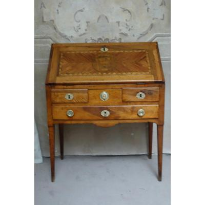 Small Office In Donkey From Directoire Period