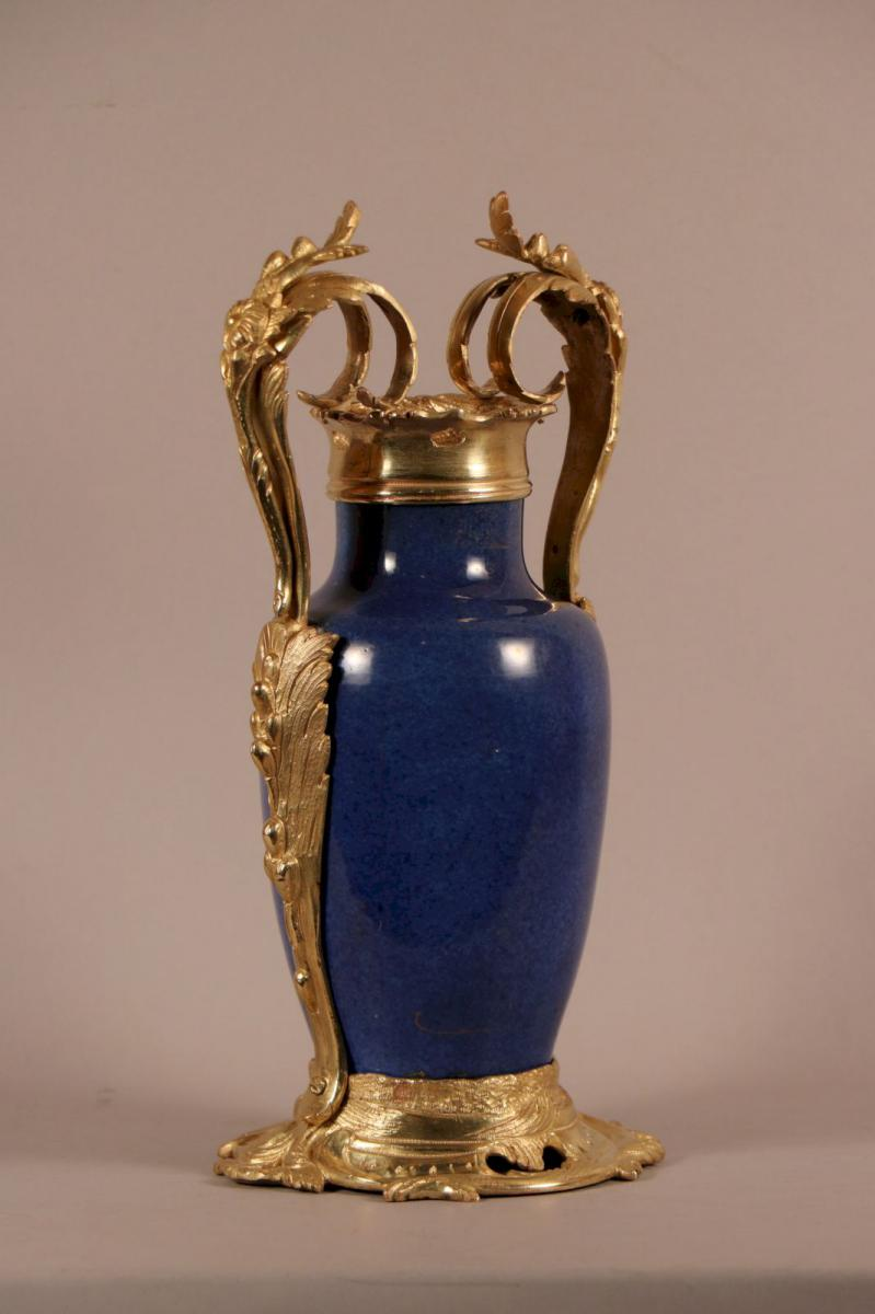 Vase, China Porcelain, Similar Mount, Louis XV Period