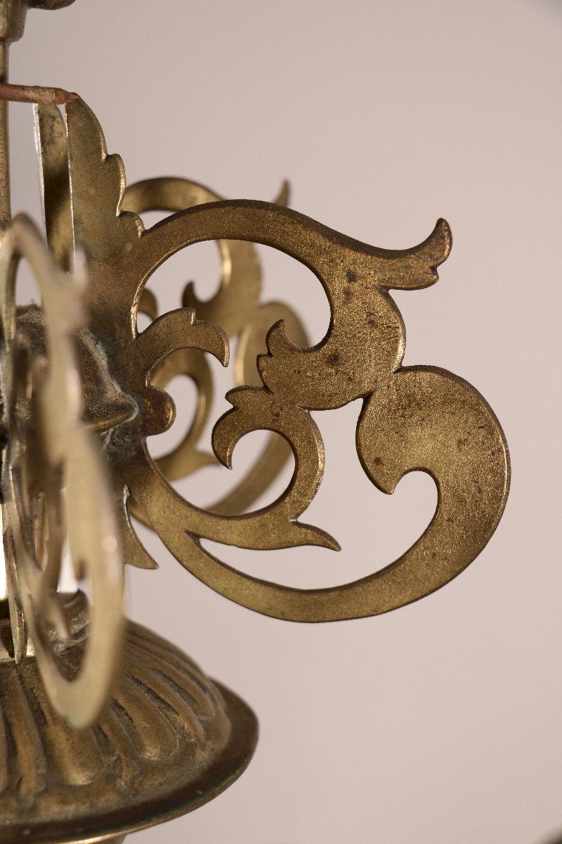 Lustre à Douze Bras Du XVIIe Siècle-photo-5