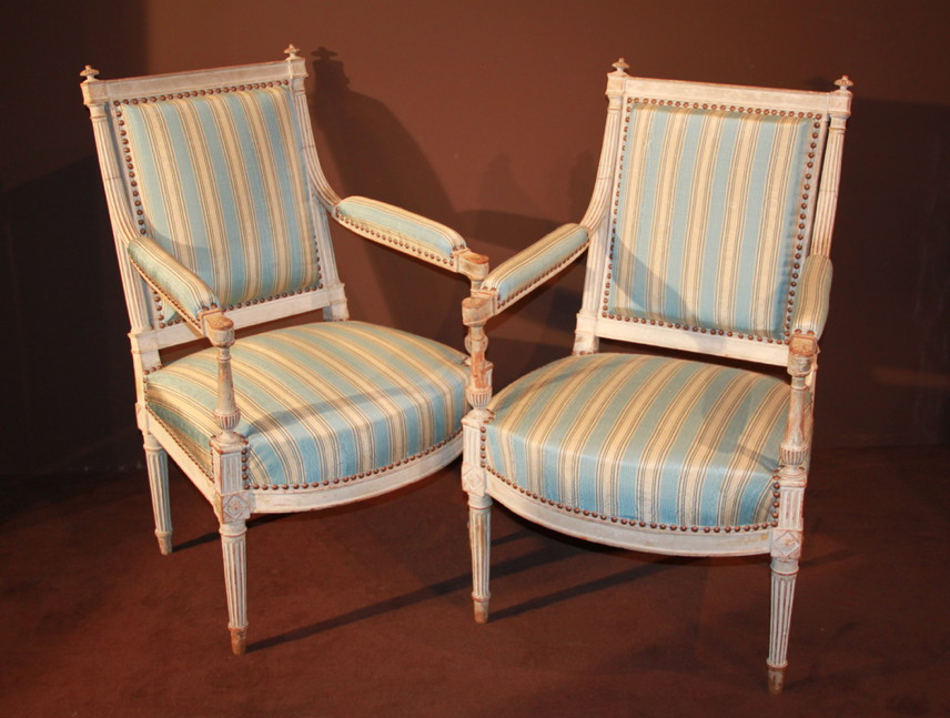 Pair Of Chairs At Queen Of Louis XVI
