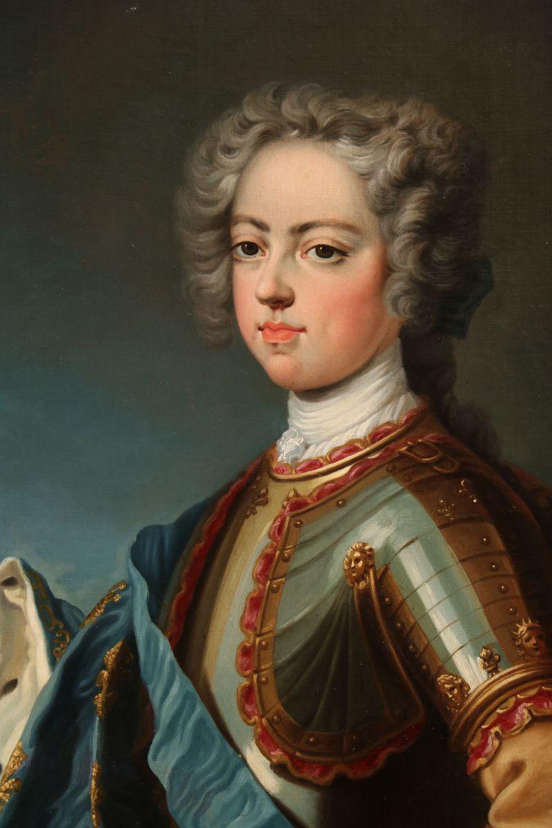 Louis XV, Huile Sur Toile, Vers 1725