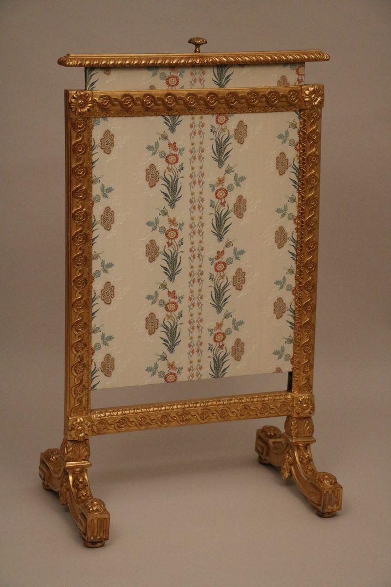 Ecran De Cheminée De Style Louis XVI