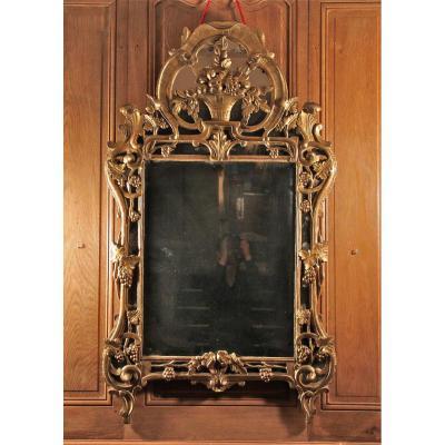 Miroir Aux Pampres De Vigne, époque Louis XV