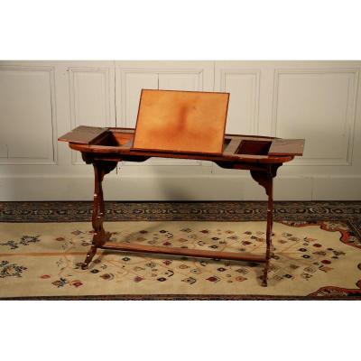 Table Rognon Dans Le Goût De Canabas, époque Louis XVI