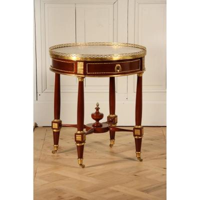 Table-bouillotte De F.j. Papst, époque Louis XVI