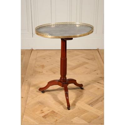 Table De Salon De Canabas, Vers 1780-1790