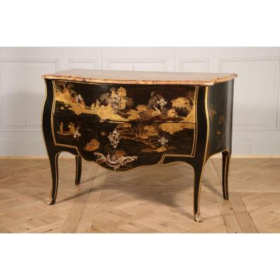 As In China Lacquer By C. Wolff