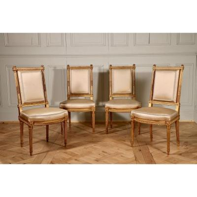 Chairs Suite, Attr. To Henri Jacob, About 1785