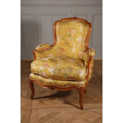 Bergère De Michel Gourdin, époque Louis XV
