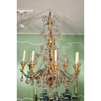 Open Chandelier At Eight Arms Of Light
