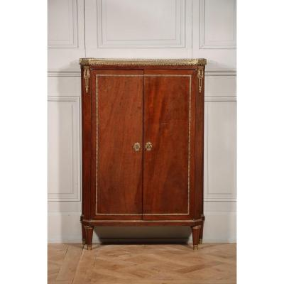 Mahogany Support Height Cabinet