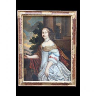 Three Quarter Half-length Portrait Of A Likely Princess