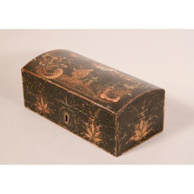 Boîte de Spa En Vernis Martin d'époque Louis XV