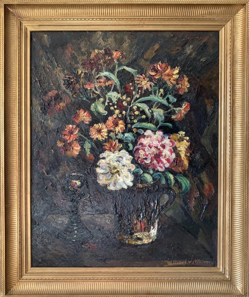DUMONT Pierre (1884-1936) - Bouquet de fleurs
