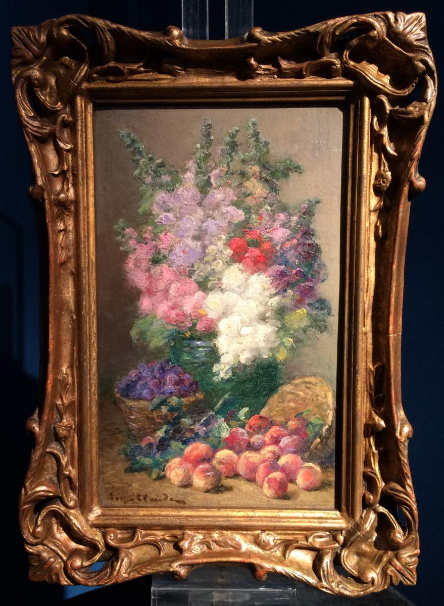 CLAUDE Eugène (1841-1922) - Fleurs et fruits