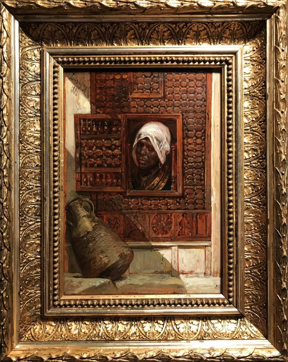 LOUIS GUY Jean-Baptiste (1828-1888) - Scène orientaliste