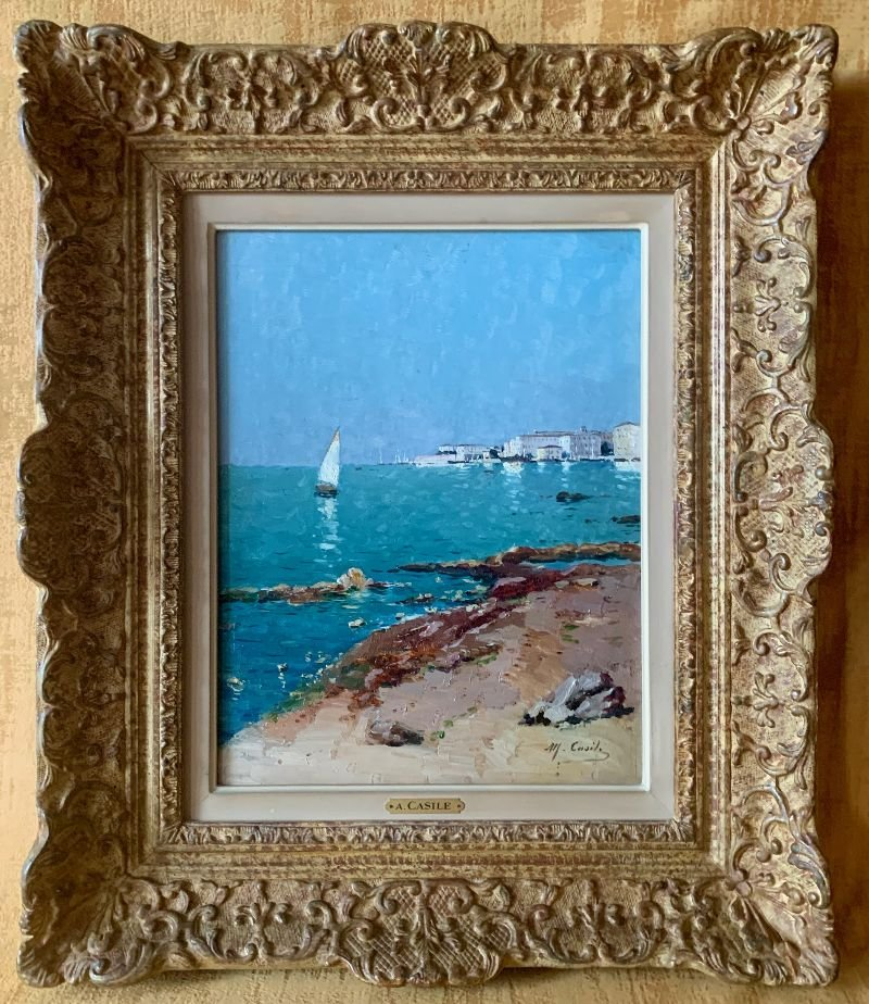 CASILE Alfred (1848-1909) - Marseille