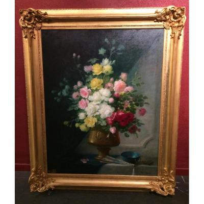 GUERIN Thérèse (1861-1933) - Bouquet de fleurs
