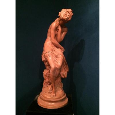 MOREAU Mathurin (1822-1912) - sculpture en terre cuite