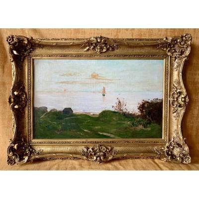 DELPY Hippolyte Camille (1842-1910) - Bord de mer