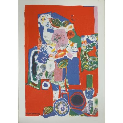 Bezombes Roger (1913-1994) - Flowered Character
