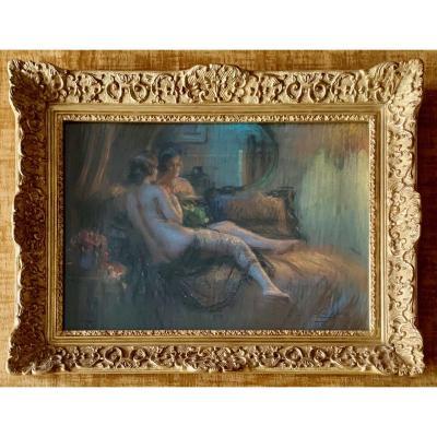 ENJOLRAS Delphin (1857-1945) - Pastel