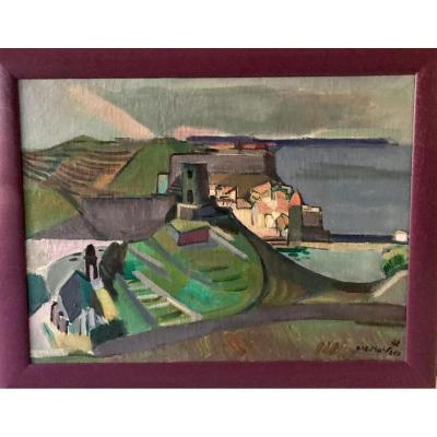 CHARTRE Antoine (1903-1968) - Vue de Collioure