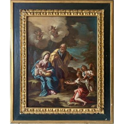 Oil On Canvas By Antonio Balestra Born In Verona 1666-1740